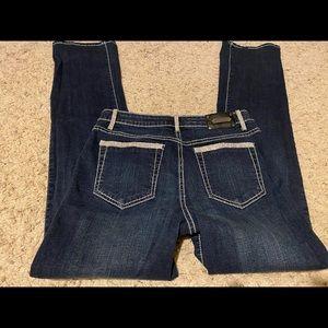Try Luxe Jeans Rhinestones Skinny Size W30,L32 1/2